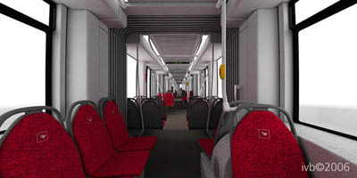 Innsbrucker Flexity Outlook Innenansicht