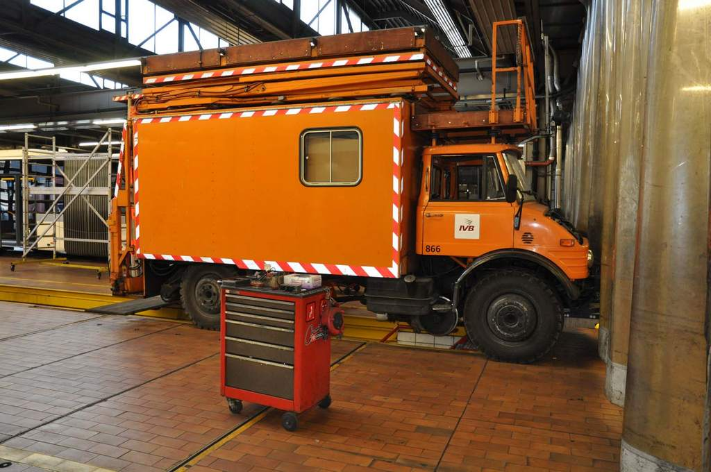 IVB-Arbeitswagen 866
