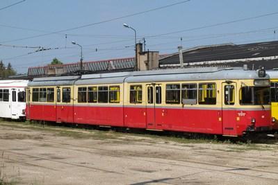 Tw 86 am 2. August 2012 im Depot Helenowek, Lodz